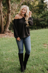 {Last Chance} Adrianna Off Shoulder Top *FINAL SALE*