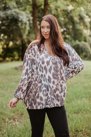 *NEW* Shelby Leopard Long Sleeve Top