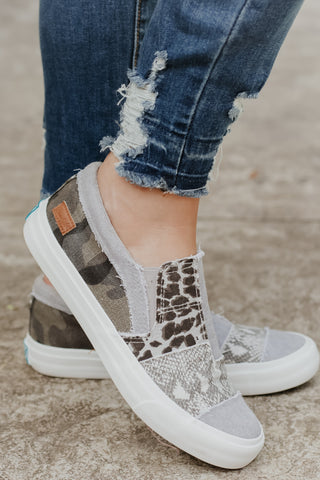 *NEW* Maddox Animal Print Sneaker