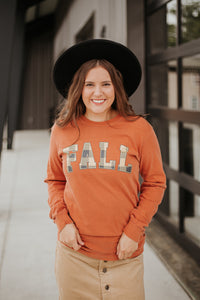 *NEW* Fall Plaid Long Sleeve Graphic Tee