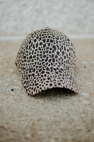 *New* Lisa Leopard Hat ~ Brown