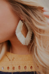 Romy Fringed Tassel Earrings