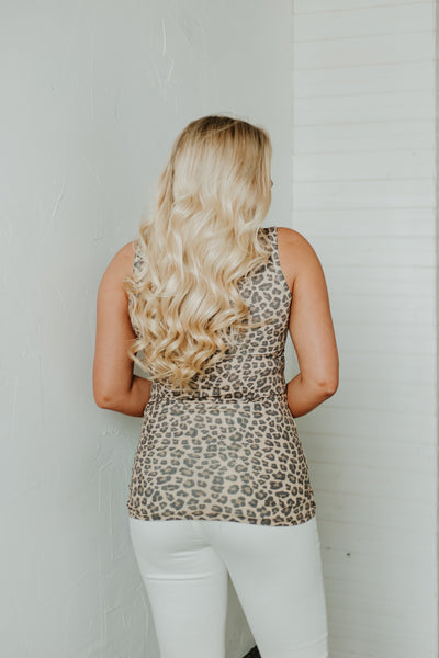 *New* Tatum Leopard Printed Tank ~ Leopard Printed - Be You Boutique