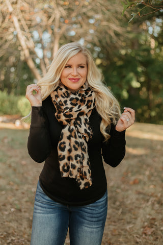 *New* Perfect Leopard Scarf ~ Leopard