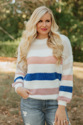 Chasta Soft Knitted Sweater ~ Multi Color