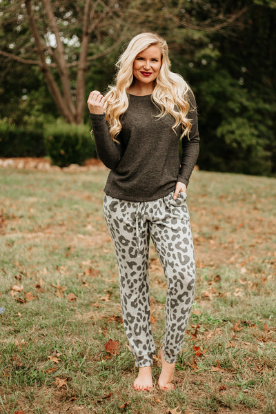 Kassie Oh So Soft Joggers ~ Grey