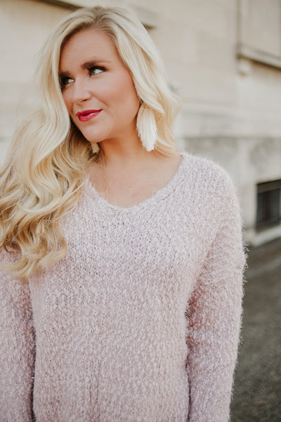 My Favorite Sweater ~ Mauve