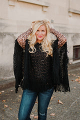 *NEW* Crazy Train Layer Your Leopard **Mesh Longsleeve** Top ~ Leopard