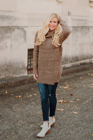 {LAST CHANCE}  Turtle Neck Tunic/ Dress