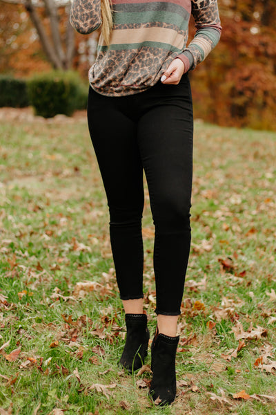Kancan Miranda Skinny Jeans ~ No Distressing ~ Black