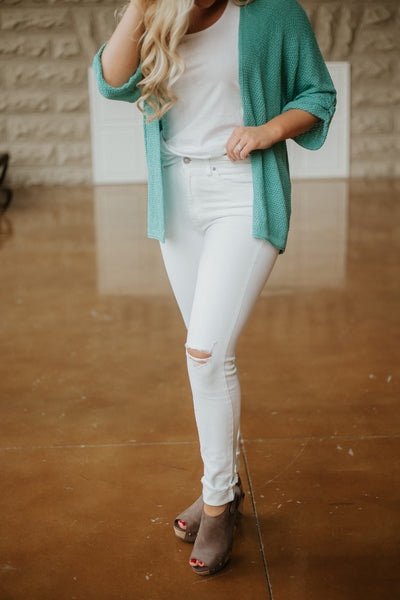 {Last Chance}  Lowell Skinny Jeans ~ White