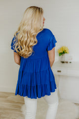 *NEW* Be My Baby Baby Doll Tunic ~ Royal Blue