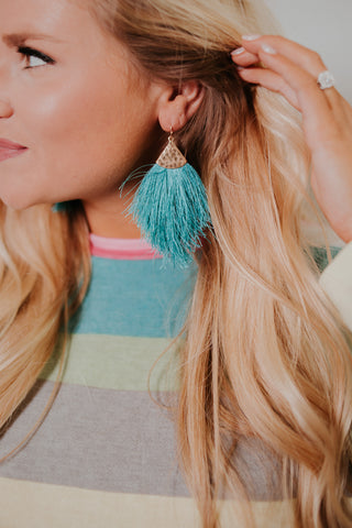 {Last Chance}  Daydream Fringe Earrings ~ Summer Colors *FINAL SALE* - Be You Boutique