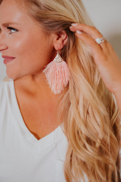 {Last Chance}  Daydream Fringe Earrings ~ Summer Colors