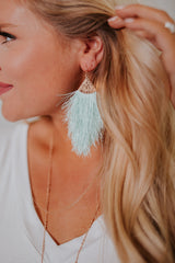 *NEW* Daydream Fringe Earrings ~ Spring Colors