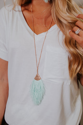 {Last Chance} Daydream Fringe Necklaces ~ Spring Colors *FINAL SALE* - Be You Boutique