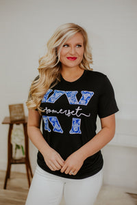 {Last Chance} Somerset KY Unisex Tee ~ Black *FINAL SALE* - Be You Boutique