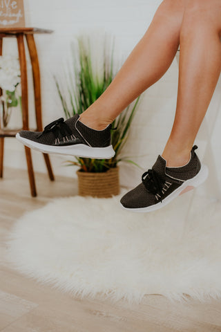 {Last Chance} Not Rated Didi Slip On Sneakers ~ Black *FINAL SALE* - Be You Boutique