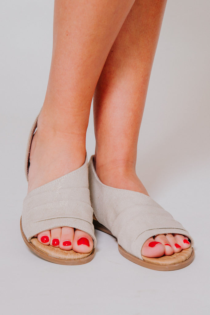 {Last Chance} Not Rated Shanti Sandals ~ Cream
