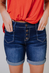 *NEW* Cuffed My Shorts ~ Denim - ShopBeYouBoutique