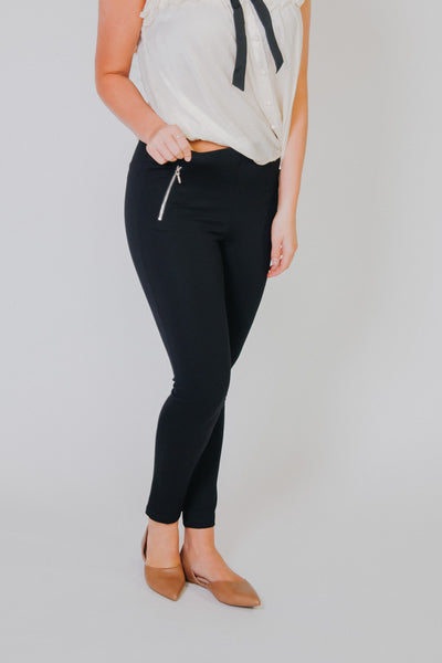 *NEW* Have To Have Dressy Leggings ~ Black