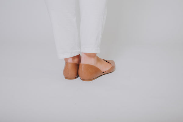 Hedy Flats ~ Taupe - ShopBeYouBoutique