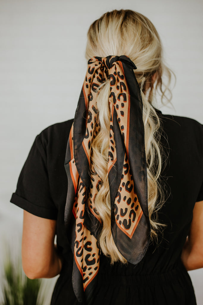 Spring Perfect Cheetah Scarf