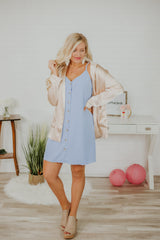 *NEW* Oh My Satin Tailored Pocket Blazer ~ Taupe