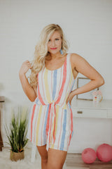 *NEW* Cotton Candy Delight Romper ~ Multi
