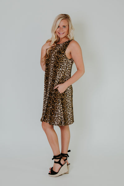 Leopard Is My Vibe Dress ~ Leopard