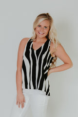 Safari Tank ~ Black