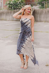 {Last Chance} Tie Dye Dreams ~ Navy/Taupe
