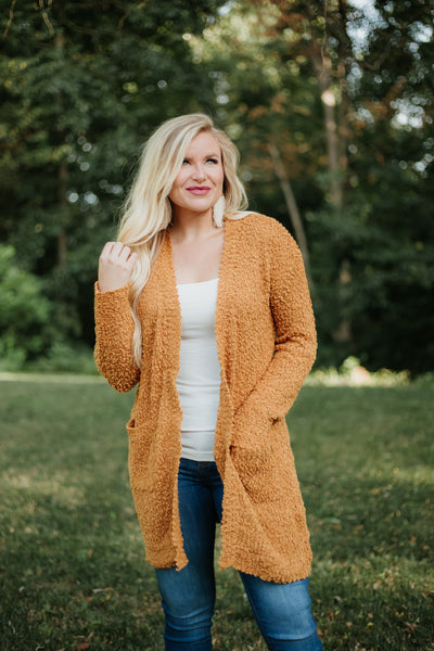 *NEW* Listicle Poppy Soft Cardigan ~ Golden Mustard - ShopBeYouBoutique