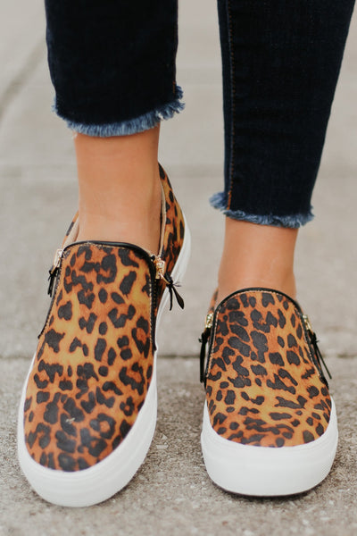 Not Rated Timothy Slip On Sneaker  ~ Leopard