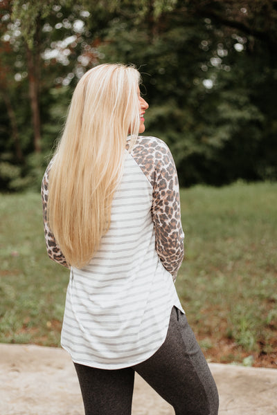 *NEW* Lorelei Animal Print Raglan ~ Animal Print - ShopBeYouBoutique