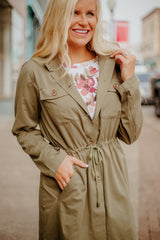 {Last Chance} Cool Nights Jacket ~ Olive