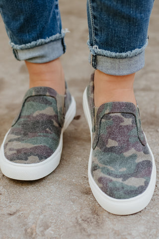 {Last Chance} Corky's Jungle Slip On Shoes ~ Camo *FINAL SALE* - Be You Boutique