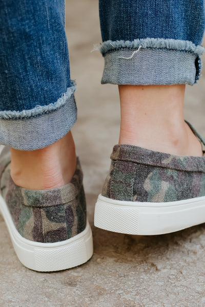 Corkys Jungle Slip On Shoes ~ Camo - ShopBeYouBoutique