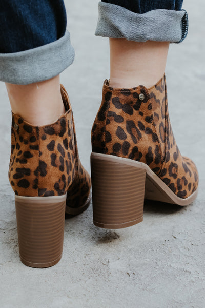 *NEW* Corkys IKE Ankle Bootie ~ Leopard - ShopBeYouBoutique