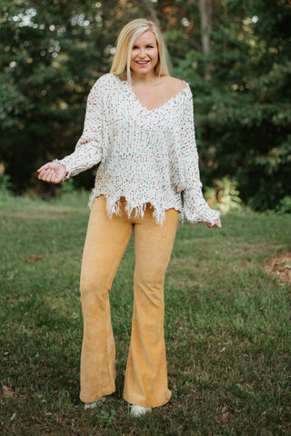 *NEW* Phoenix Bellbottoms ~ Mustard - ShopBeYouBoutique