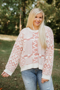 POL Jacqui Chic Sweater ~ Mauve
