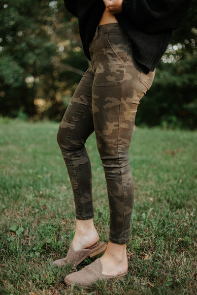 {Last Chance} Army Pants ~ Military Camo - Be You Boutique