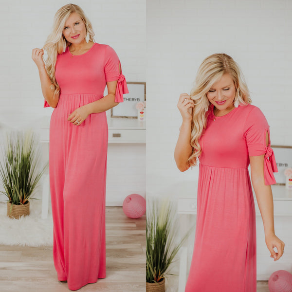 Be Mine Coral Maxi ~ Coral