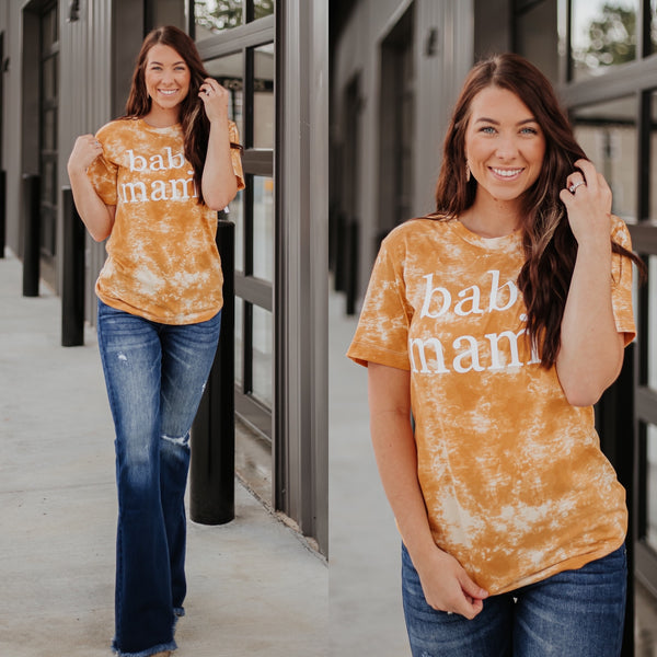 {Last Chance} Bleached Baby Mama Graphic Tee  **ALL SALES FINAL**