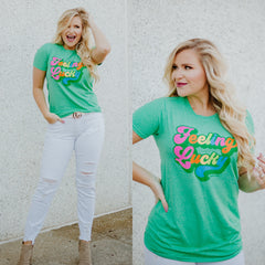 Blessed Beyond Belief Graphic Tee ~ Pink - ShopBeYouBoutique