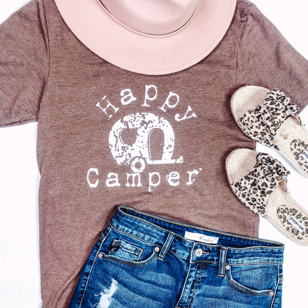 *NEW* Happy Camper~ Brown
