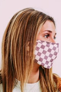 *New* Harley Checkered Masks ~ 2 COLORS