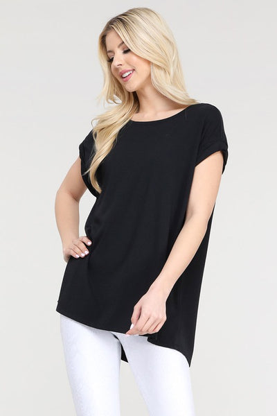 Shelby Basic Short Sleeve Top