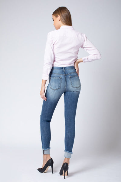 Kancan Jenna High Rise Ankle Skinny Jeans