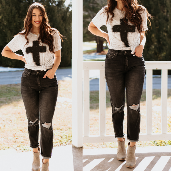 *New* Kancan Milana High Rise Mom Jeans